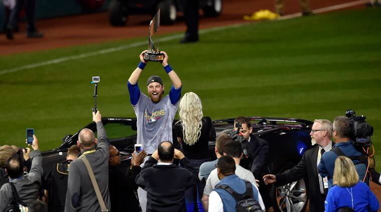 Chicago Cubs, Chicago Cubs World Series, World Series Chicago Cubs, Ben Zobrist, Ben Zobrist Chicago Cubs, Ben Zobrist MVP World Series, Sports