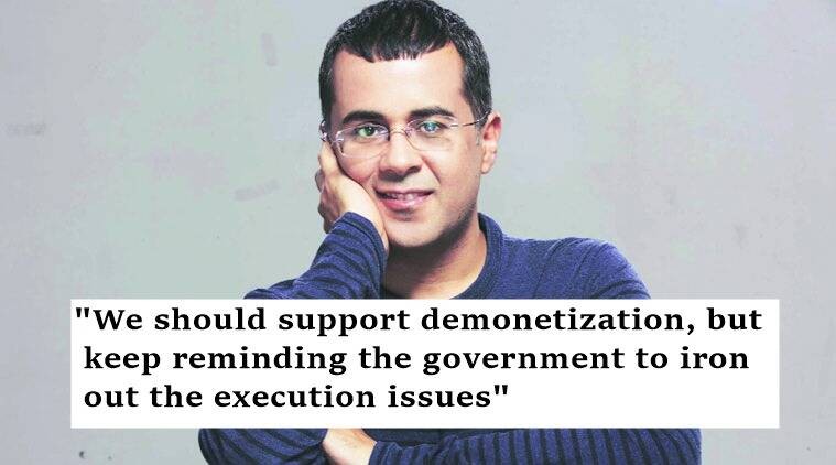 chetan bhagat, chetan bhagat facebook, demonetisation, chetan bhagat facebook demonetisation, chetan bhagat on demonetisation, chetan bhagat's demonetisation explanation, indian express, indian express trending, trending, viral