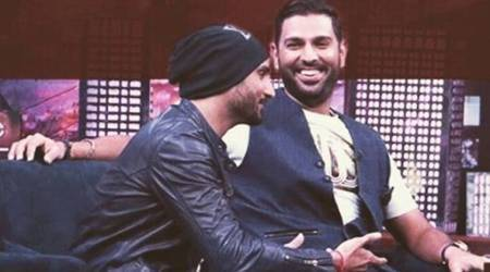 Harbhajan Singh pays tribute to 'champion' Yuvraj Singh on his 300th ODI, watch video