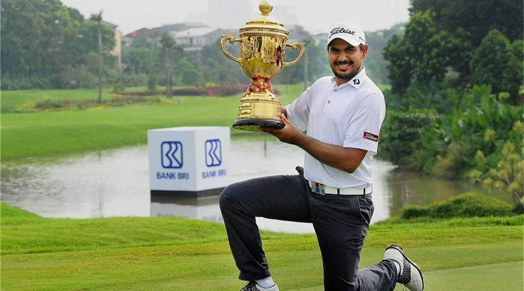gaganjeet bhullar, gaganjeet, bhullar, indonesia open, indonesia, golf, golf india, india golf