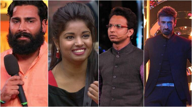 bigg boss, bigg boss evictions, bigg boss nominations, bigg boss 10 evictions, bigg boss 10, bigg boss 10 manveer lokesh navin rahul, bigg boss 10 eliminations, bigg boss 10 swami om returns, bigg boss 10 weekend ka vaar, bigg boss 10 salman khan, bigg boss 10 evictions poll, bigg boss 10 evictions vote, bigg boss 10 nominations vote, bigg boss 10 news, television news, indian express, indian express news