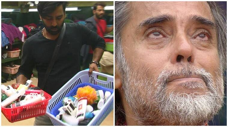 Bigg Boss 10 preview, Bigg Boss 10 tonight episode, Bigg Boss 10 swami om steals, swami om caught red handed, manoj manveer reveals Swami om reality, swami om cries, priyanka monalisa fight, manoj punjabi priyanka jagga, rohan captain, rohan loses captaincy, bigg boss 10 news, bigg boss 10 updates, television news, television updates, entertainment news, indian express news, indian express