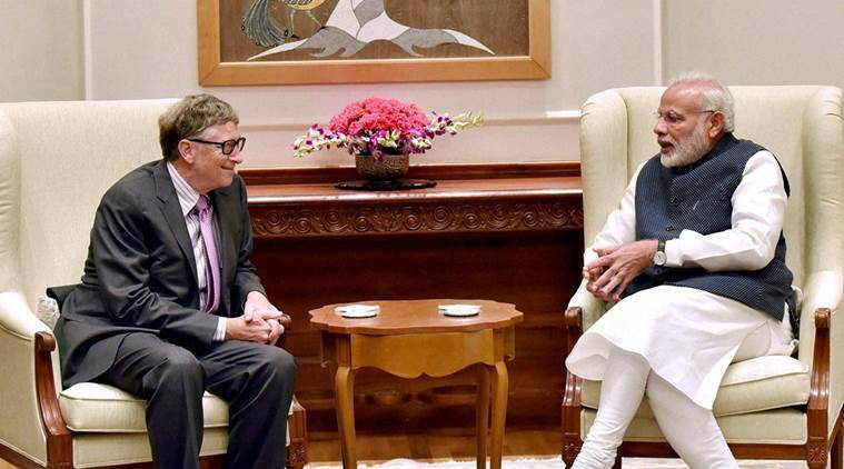 Demonetisation, Bill gates, Currency demonetisation, narendra modi government, Modi government, indian currency, india economy, india business, business news, indian express news
