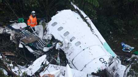 colombia plane crash, brazilian football team plane crash, chapocoense plane crash, bolivian authorities, world news, latest news, indian express