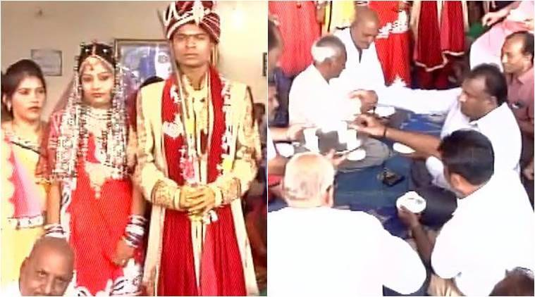 Couple gets married in just Rs 500