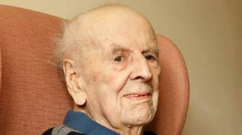 Britain's oldest man dies at 108 | The Indian Express