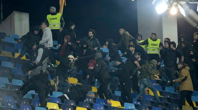 Poland, Poland football team, Romania, Romania football team, Roberto Lewandowski, Lewandowski, Poland vs Romania, Poland Romania crowd trouble, World Cup 2018 qualifier, World Cup 2018, football news, football, sports, sports news