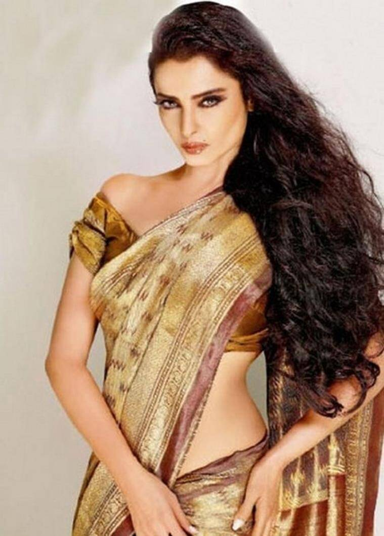 Rekha sexi photo