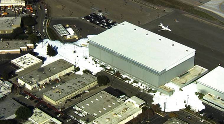 san jose, san jose airpolrt, san jose foam airport, san jose airport foam, foam spilled California, california airport foam, world news, latest news, indian express