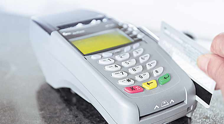 swipe machine, pos machine in chandigarh, demonetisation, cashless in chandigarh, point of sale machine, banks in chandigarh, bank of india, chandigarh beopar mandal, chandigarh news