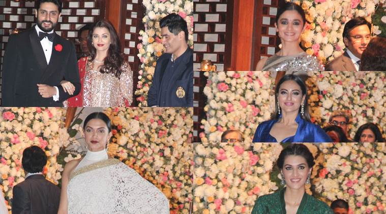 The evening was a star studded affair and celebs atepped out in high couture. (Source: Varinder Chawla)
