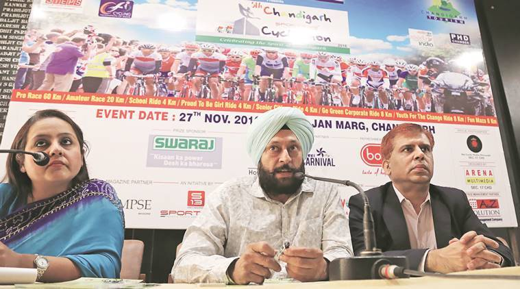 Chandigarh Cyclothon, cycling, Chandigarh news, India news, latest news, indian express