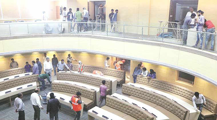 Chandigarh: Incomplete new assembly hall of Municipal ...
