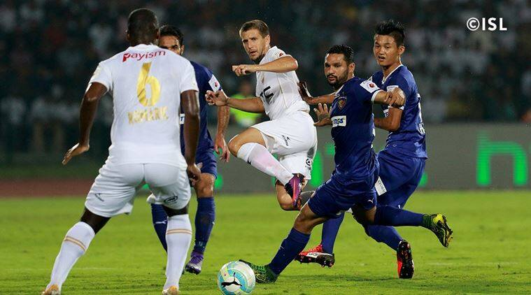 Chennaiyin FC vs NorthEast United FC, NorthEast United FC vs Chennaiyin FC, Chennaiyin vs NorthEast, ISL 2016, ISL, Football