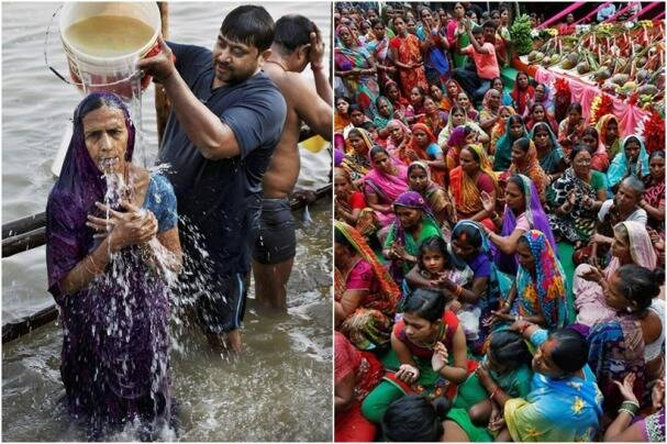 Chhath Puja 2016: On final day, people celebrate and offer prayers to Sun