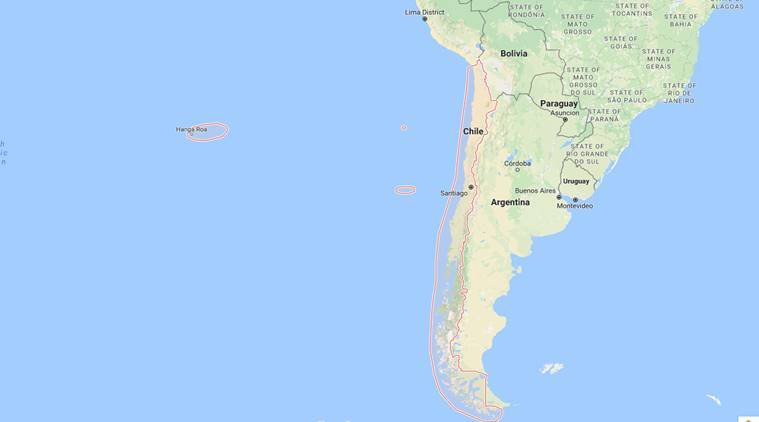Chile, Earthquake, chile earthquake, chile quake, magnitude 6.4, world news, indian express