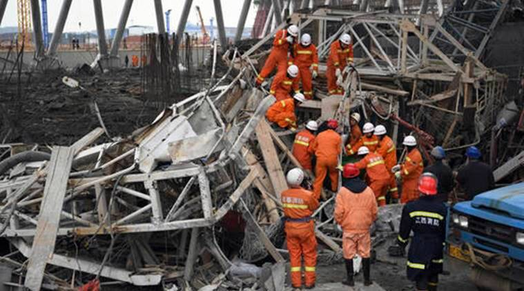 China workplace deaths, China death, China industrial accidents, China industries, Chinese workers, Chinese workers death toll, indian express news