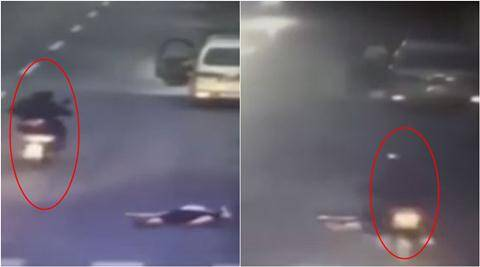 viral video, hit and run videos, hit and run case, road accident videos, china double hit and run case video, double hit and run china, trending news, viral news, latest news, indian express