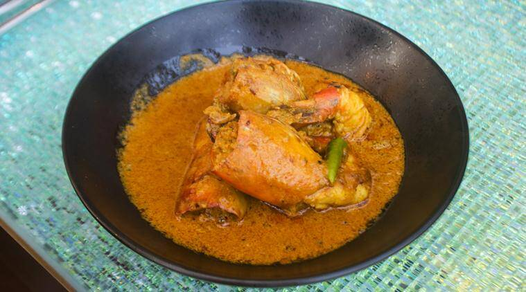 prawn, bengali cuisine, bengali food, bengali recipe, prawn recipe, chingri malai curry, prawn malai curry, prawn malai curry recipe, jw marriott, jw marriott kolkata, food news, lifestyle news, latest news, indian express