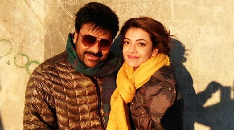 chiranjeevi kajal, chiranjeevi kajal aggarwal, chiru kajal, chiranjeevi khaidi no 150, khaidi no 150 chiranjeevi, chiranjeevi new pic, chiranjeevi kajal pic, chiru kajal pic, khaidi no 150 shooting, tollywood news, entertainment news