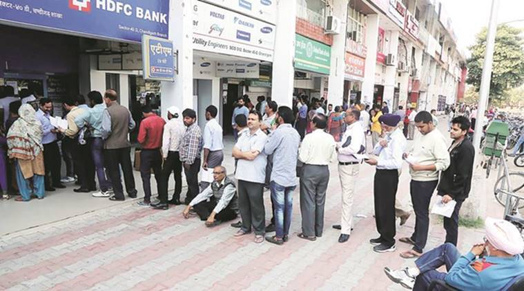 demonetisation, demonetisation crisis, demonetisation chandigarh, demonetisation people, Narendra Modi, demonetisation policy, currency demonetised, currency notes, currency banned, Rs 500 note, Rs 1000 note, india news, indian express