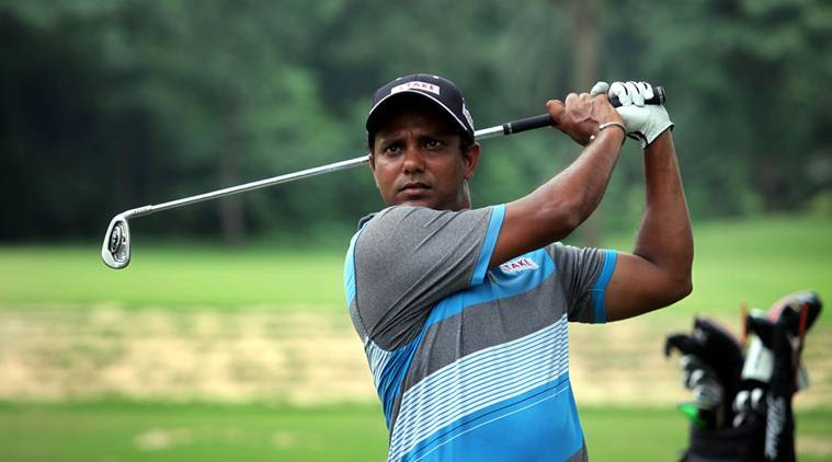 Son of a groundskeeper at Royal Calcutta Golf Club and Caddie turn professional Golfer SSP Chawrasia during a practice session at RCGC , Kolkata on July 19, 2016. Express Photo by Partha Paul. *** Local Caption *** Son of a groundskeeper at Royal Calcutta Golf Club and Caddie turn professional Golfer SSP Chawrasia during a practice session at RCGC , Kolkata on July 19, 2016. Express Photo by Partha Paul.