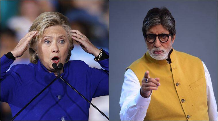 hillary clinton amitabh bachchan, clinton email, clinton leaked emails, wikileaks, wikileaks clinton email, clinton email amitabh bachchan, clinton email bachchan, leaked clinton emails, world news, entertainment news, latest news, indian express, viral news, trending news