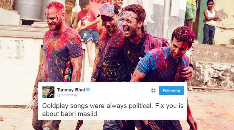 Coldplay, coldplay Mumbai concert, Coldplay concert, coldplay india concert, colplay politics, coldplay organisers, india news, indian express