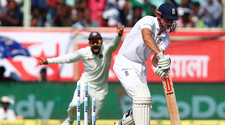 Mohammed Shami, Shami, Alastair Cook, Cook, Shami Cook dismissal, Shami Cook video, India vs England, Ind vs Eng, India England second Test, India England Vizag Test, Ind Eng Test video, cricket, cricket news, sports, sports news