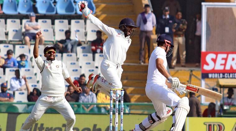 india vs england, ind vs eng, ind vs eng third test, ind vs eng third test day 1, india vs england mohali test, india vs england mohali, alastair cook, cook, jonny bairstow, virat kohli, kohli, ashwin, cricket news, sports news