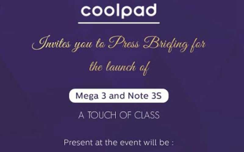 Coolpad, Coolpad Note 3S, Coolpad Mega 3, Coolpad Note 3S launch, Coolpad Mega 3 launch, Coolpad Note 3S specs, Coolpad Mega 3 specs, Coolpad Note 3S specs, Coolpad Mega 3 specs, Coolpad new phones