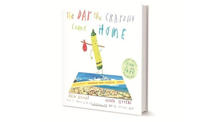 The Day The Crayons Came Home, Drew Daywalt, Oliver Jeffers, Harper Collins, book review, indian express book review, indian express