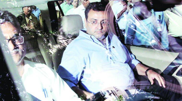 Former Tata Sons Chairman Cyrus Mistry arrives at Bombay House for Indian Hotels Company's Board meeting in Mumbai on Friday. Ganesh Shirsekar