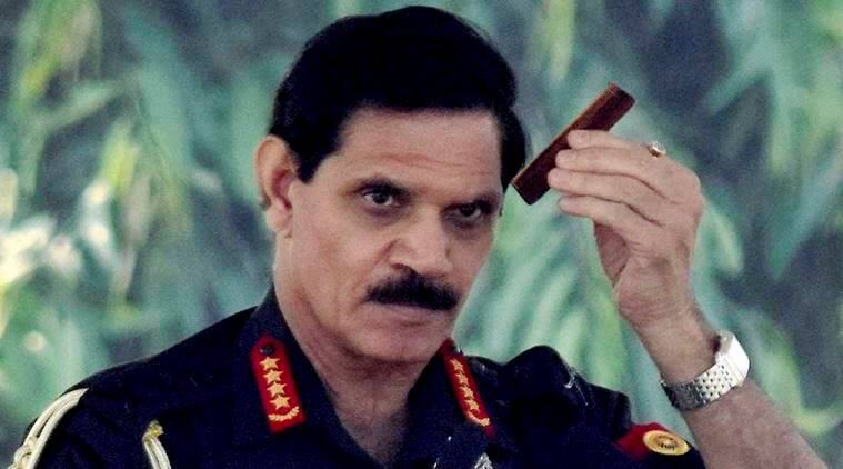 Danapur: Army chief Dalbir Singh Suhag before addressing the 18,19,20 Battalions in Danapur on Saturday. PTI photo  (PTI11_19_2016_000067A)