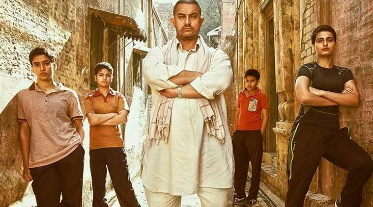 Aamir Khan, Aamir Khan news, dangal, dangal movie, Aamir Khan dangal, dangal Aamir Khan, Aamir Khan films, Aamir Khan dangal body, Fatima Shaikh, Sanya Malhotra, entertainment news, indian express, indian express news