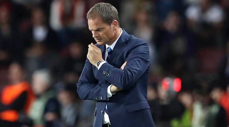 frank de boer, de boer, inter, inter owners, serie a table, de boer serie a, de boer serie a table, football news, sports news
