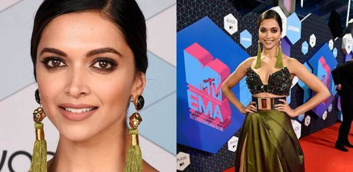 Deepika Padukone, MTV EMA, Deepika Padukone red carpet, Deepika Padukone MTV awards, Deepika Padukone image