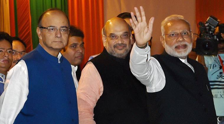 BJP, parliamentary party meet, parliamentary party executive, Narendra Modi, Amit Shah, BJP meet, BJP meeting, india news, indian express