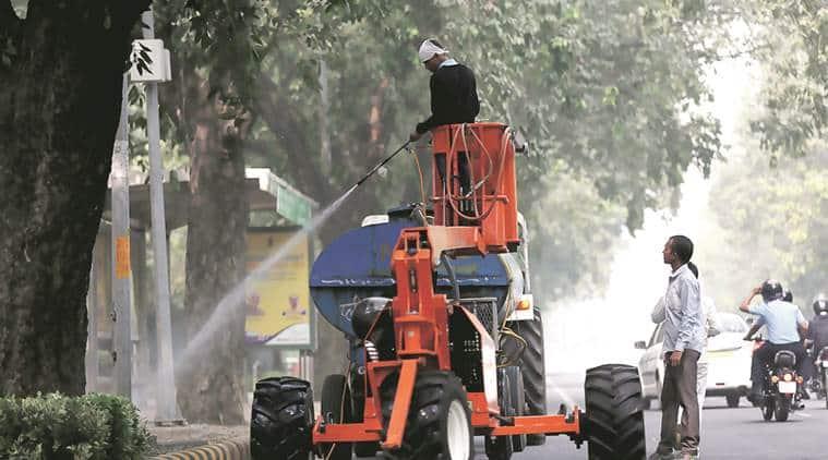 delhi, delhi pollution, delhi air pollution, delhi air quality, delhi smog, congress, delhi government, pollution level, pollution control, indian express news, delhi, delhi news