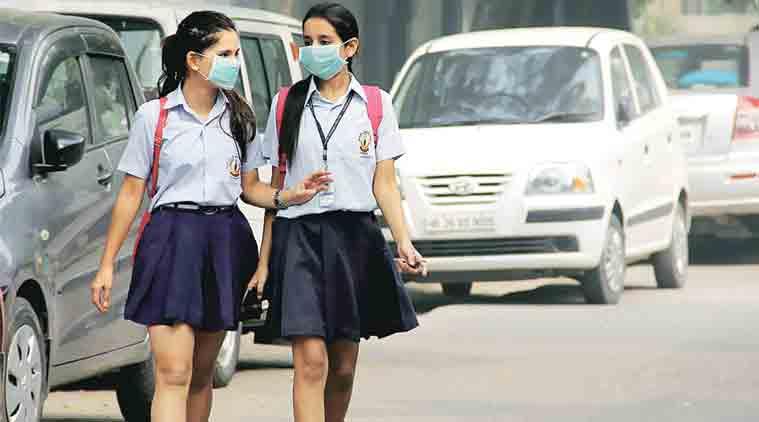 delhi pollution, pollution, delhi education, delhi smog, air pollution, delhi schools, education news, indian express,