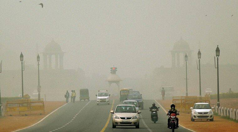 Delhi SMOG: THE GREAT CHAMBERS OF GAS