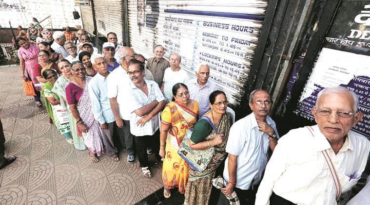Varanasi, Varanasi news Anaj Bank, Demonetisation, exchange of grains, currency exchange, queue, latest news, Indian express