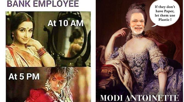 20 jokes on demonetisation and the never-ending bank queues