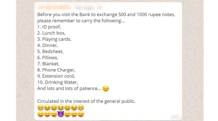 20 jokes on demonetisation and the never-ending bank queues that are