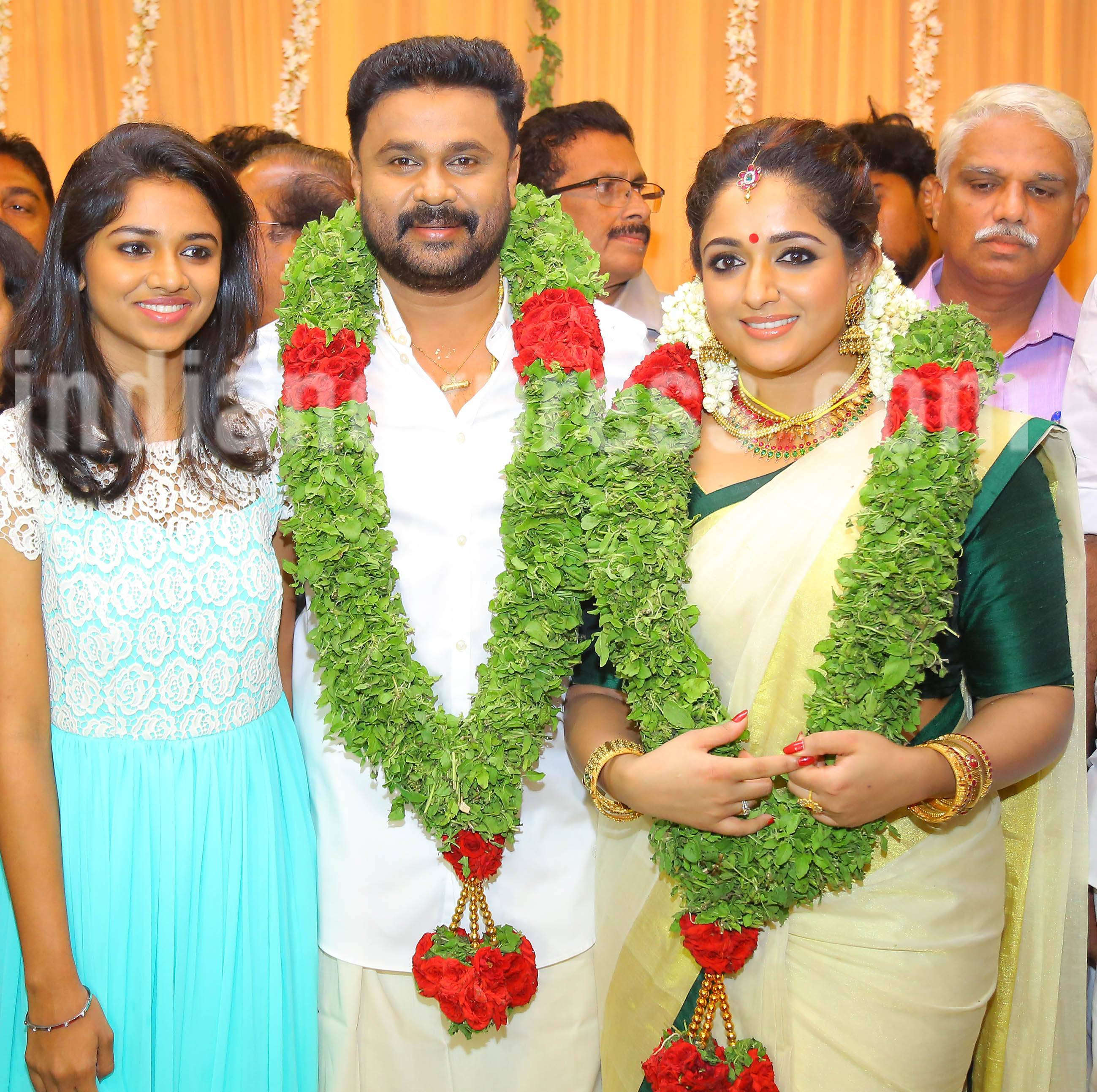 dileep-and-kavya-madhavan-wedding, dileep, kavya madhavan, meenakshi, dileep wedding, kavya wedding