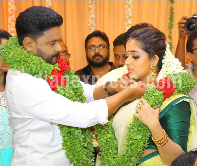 Dileep Kavya Madhavan married pics, Dileep, Kavya Madhavan, Dileep daughter