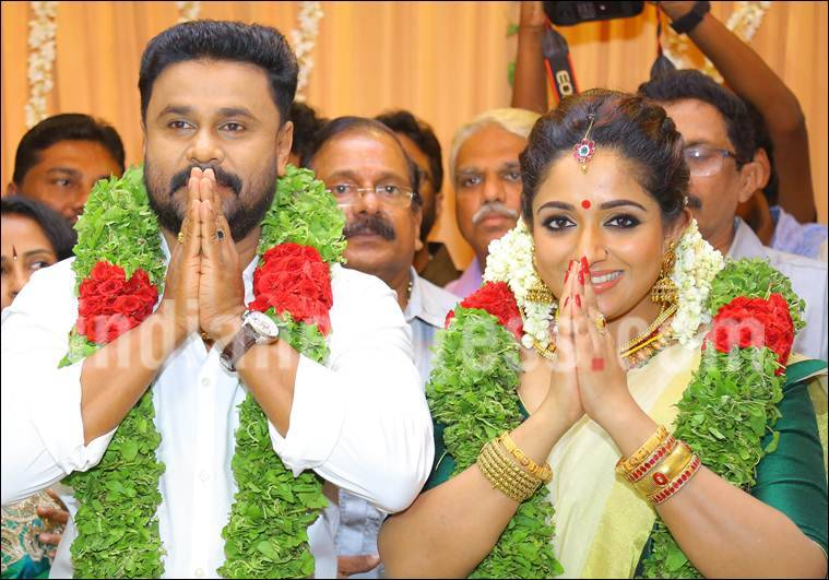Dileep Kavya Madhavan married pics, Dileep Kavya Madhavan wedding, Dileep daughter