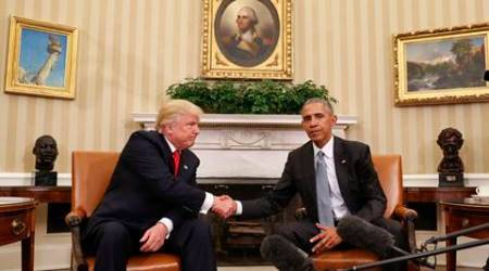 Barack Obama says would support Donald Trump moves to improve UShealthcare