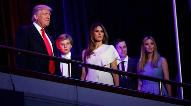 US, donald trump, president elect donald trump, melania trump, barron trump, donald trump wife, donald trump son, donald trump white house, white house, washington, world news, us news