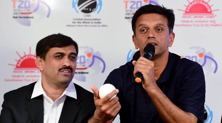 Rahul Dravid, Dravid, Dravid India, Second T20 World Cup For Blind, T20 World Cup For Blind, Cricket news, Cricket
